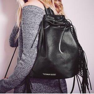 Victoria Secret Fashion Show Fringe Backpack
